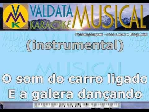 Panrampampam   Joao Lucas e Diogo   Karaoke