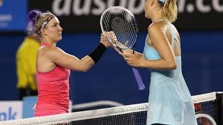 Maria Sharapova VS Bethanie Mattek-Sands Highlight 2014 AO R1