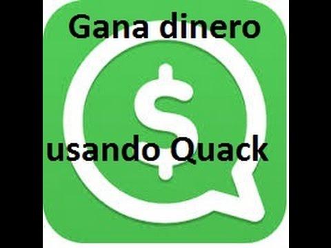 [Quack] Gana dinero chateando con tus amigos - YouTube