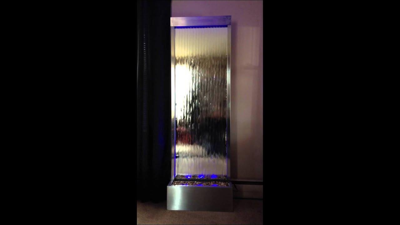 "waterfall xxl 72""x24"" floor standingjersey home decor - youtube"