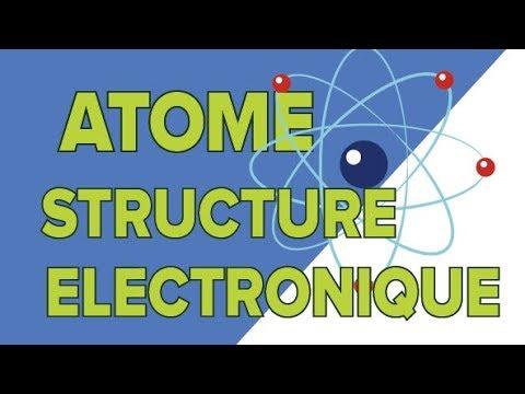 Structure Électronique de l&39;Atome - Seconde