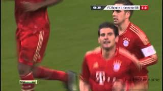 Марио Гомес гол на 15 секунде после замены Бавария   Ганновер  Чемпионат