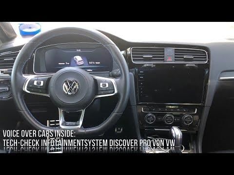 VW Golf 7 (GTE) Facelift Infotainment Check - Hands on Discover Pro Infotainmentsystem VW Tech Check