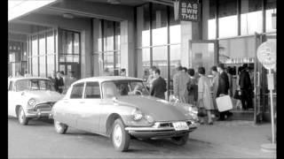 Citroen DS in French movie shot in Japan: Rififi in Tokyo