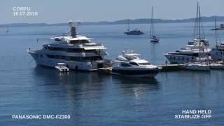 CORFU JULY 2016 /  PANASONIC DMC FZ300 VIDEO TEST 4K