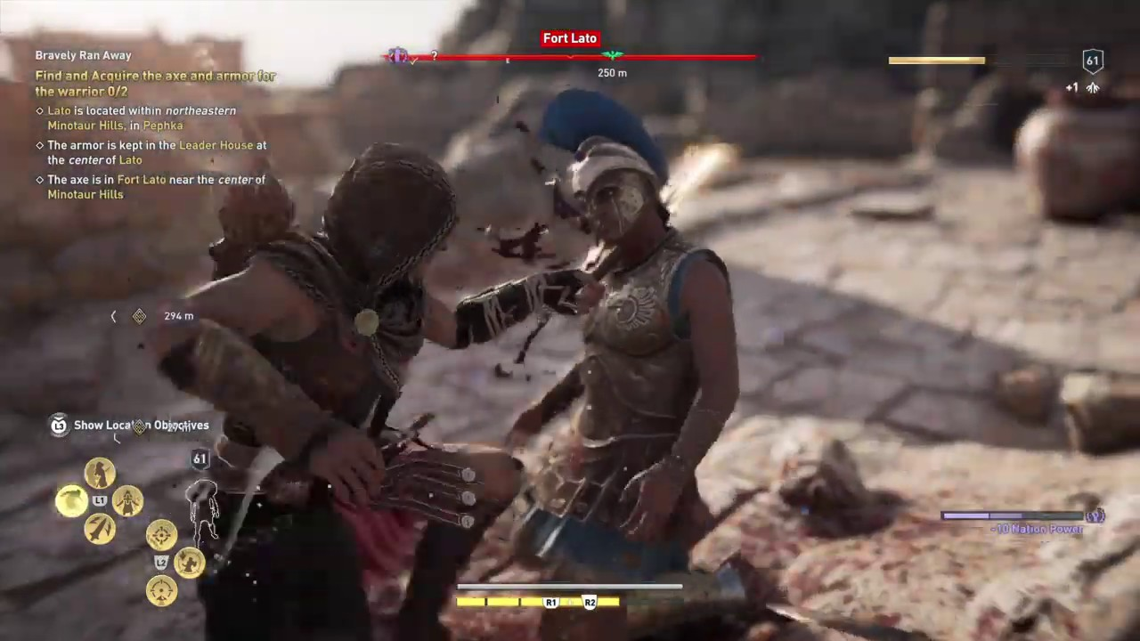 Assassin S Creed Odyssey Fort Lato Youtube