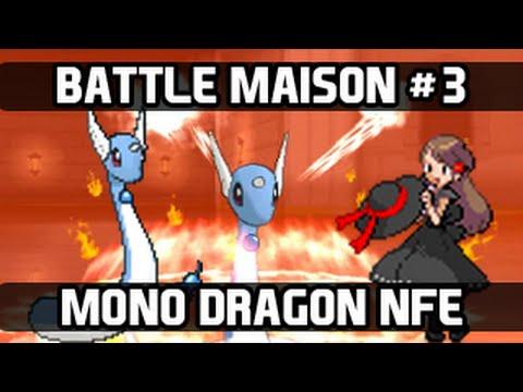 Pokemon X and Y Battle Maison - Episode 3: Mono Dragon NFE Team [Part 1]