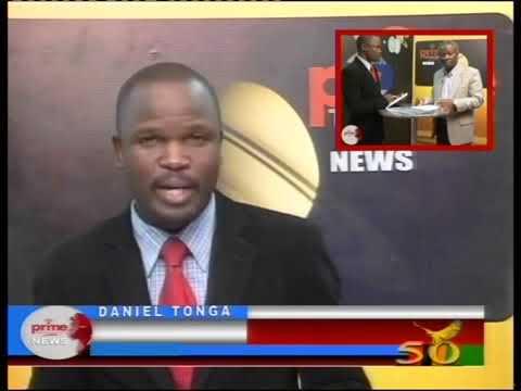 Daniel Tonga - news anchor Prime TV