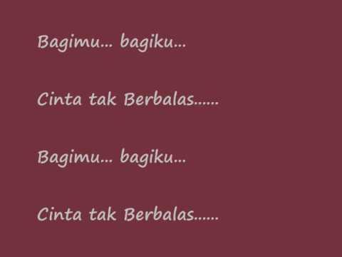 Bagiku  Cinta tak berbalas  - Tasya Tania ( with lyric )