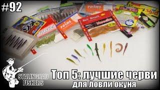 Топ 5: лучшие черви для ловли окуня