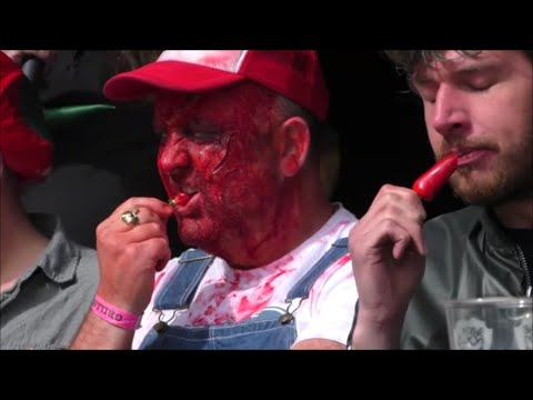 Grillstock Chilli Eating Contest Manchester Sunday 31st May 2015