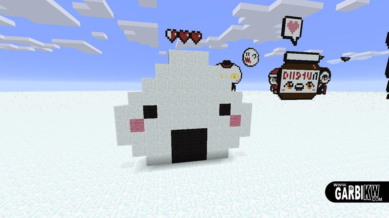 Kawaii Pixel Art To Build In Minecraft