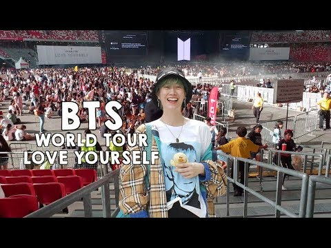 BTS WORLD TOUR LOVE YOURSELF IN SINGAPORE #06