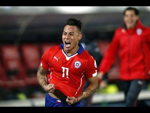 Chile 2 - 1 Perú | Golazo de Eduardo Vargas
