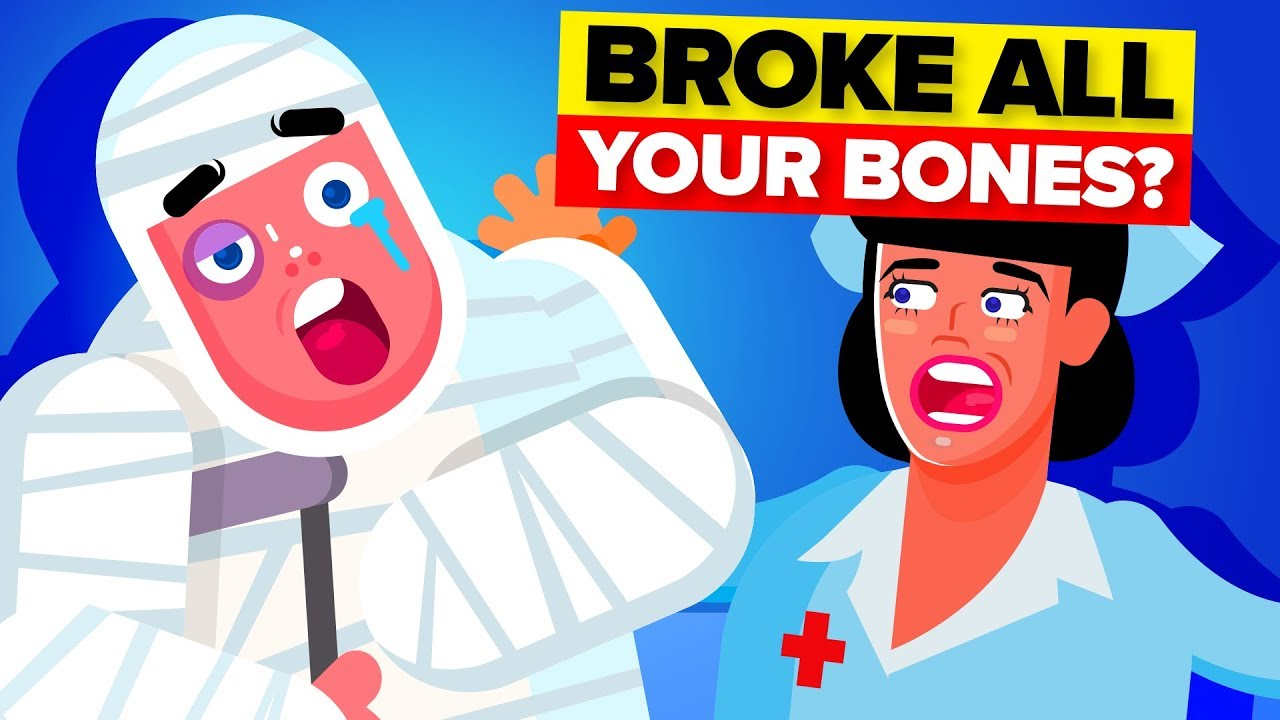 What If YOU Broke EVERY Bone In Your Body?