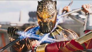 Black Panther Tamil | Black Panther Final Fight Scene Tamil | Black Panther Tamil Scene
