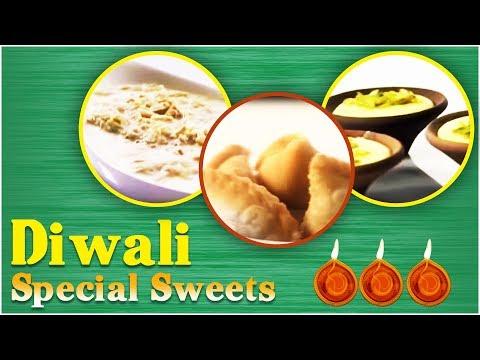 Diwali Sweets Recipes   Indian Sweets Recipes   Diwali Festival Sweet Recipes  Diwali Mithai Recipes