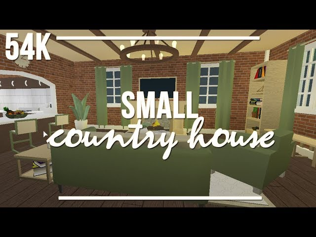 ROBLOX | Welcome to Bloxburg: Small Country House 54k