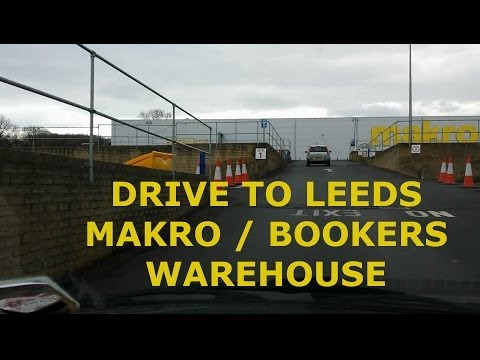 Juntion 32 of M62 to Makro / Bookers Warehouse in Leeds