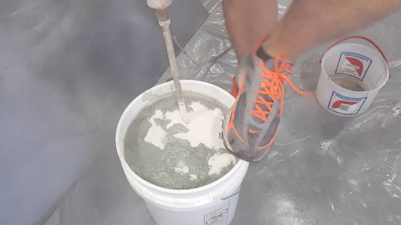 How To Add Concrete Color Additive Overlay Bag Mix