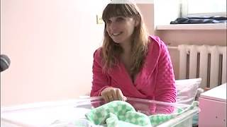 В Новозыбкове первым новорожденным 2019 года стал мальчик