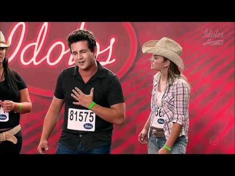 Ídolos 2011 - Audição - Camila, Helton e Gabriela de Morais