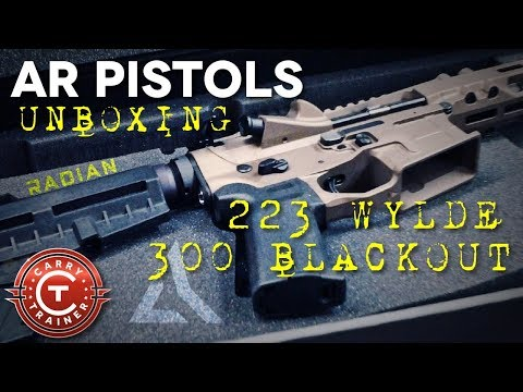 Radian AR Pistols - Unboxing Two New Model One
