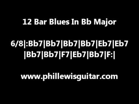 12 Bar Blues Backing Track In Bb Major