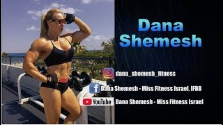 Fitness Motivation | Outdoor Workout | DANA SHEMESH Bodybuilder & Trainer