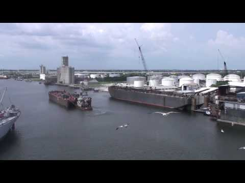 Cruise Ship Carnival Legend  Departing Tampa Florida