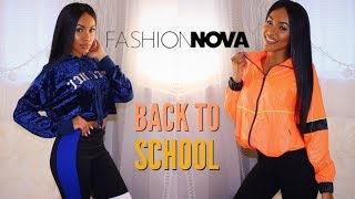 Back To School Fashion Nova Clothing Try On Haul