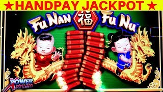 My BIGGEST HANDPAY JACKPOT On FU NAN FU NU Slot Machine | $8.80 Max Bet ✨MASSIVE WIN✨ | JACKPOT WON