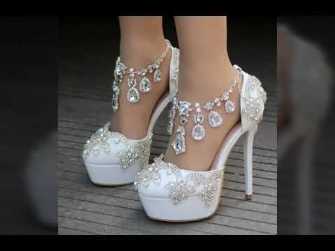2018 &2019un yeni gelin ayakkabısı modelleri