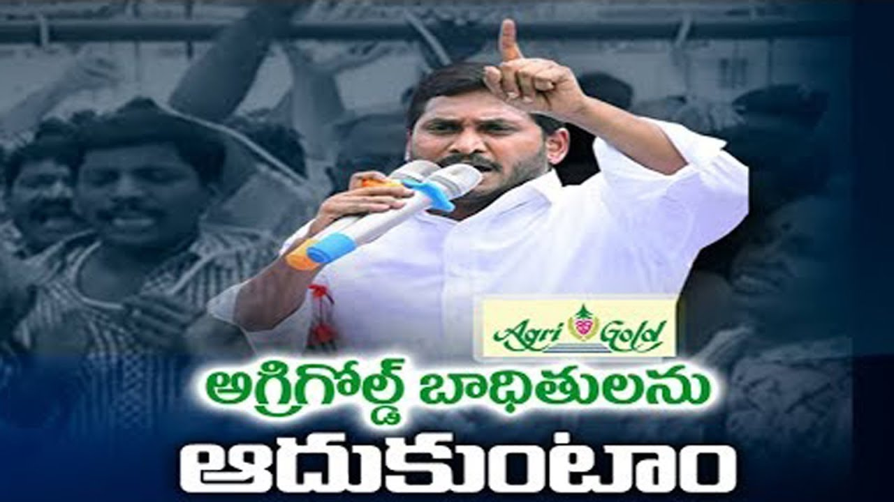 YS Jagan On AgriGold Victims | YSRCP Manifesto Release | YSRCP Navaratnalu  | AP Elections 2019