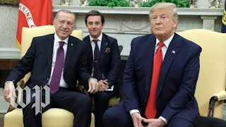 Watch: Trump meets with Turkey