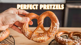 The Best Homemade Soft Pretzels