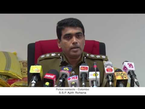 SL Floods 2016   Police contacts – Colombo