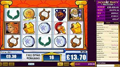 Kingdom of the Titans slot machine bonus + 3 retriggers! HD 720p