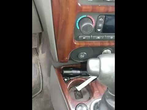 2004 GMC envoy stuck in gear easy fix - YouTube