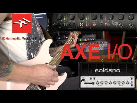 IK Multimedia AXE I/O - The Audio Interface for guitarists