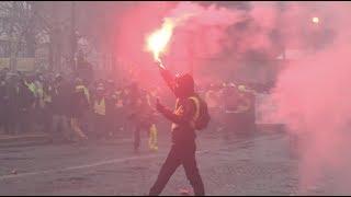Gilets jaunes Acte 10 : mobilisation importante, tensions marginales (19 janvier 2019, Paris)