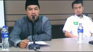Ust  Eka Permana H  Ketua Umum PP  Pemuda Persis JITU edisi II. Fiqh Jam`iyyah