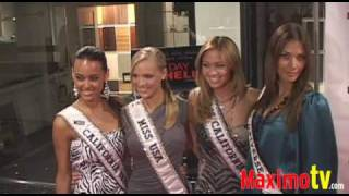 4 HOT MISSES Shining on The Red Carpet July 2, 2009