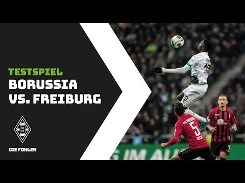 Testspiel: Borussia - SC Freiburg