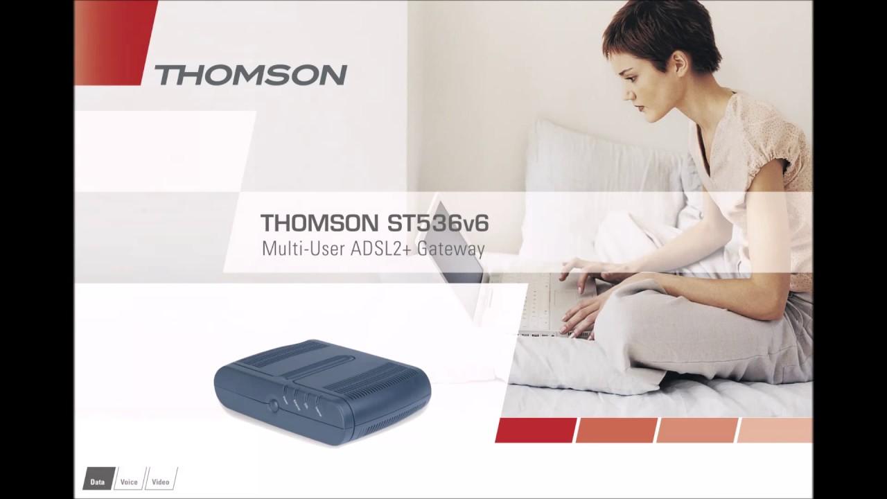 NEW DRIVER: THOMSON SPEEDTOUCH ST536V6