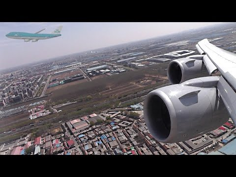 747-8i Take-Off from