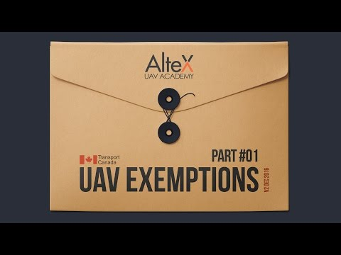 Understand UAV Exemptions Part 1
