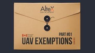 Understand UAV Exemptions Part 1