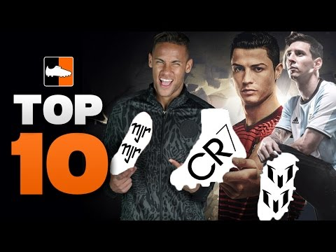 Top 10 Signature Football Boots - Ronaldo, Messi, Neymar's Cleats