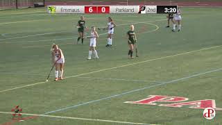 Parkland vs. Emmaus Field Hockey Friday, October 23 at 4:00 PM